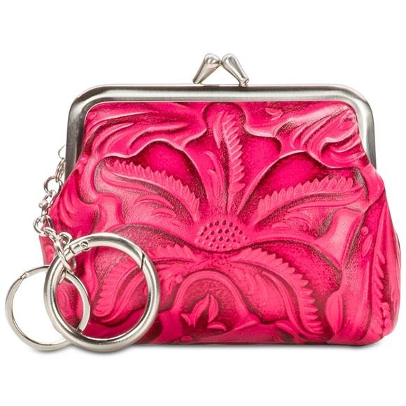 2a9bd008e19e Patricia Nash Bags | Leather Borse Tooled Coin Purse New | Poshmark